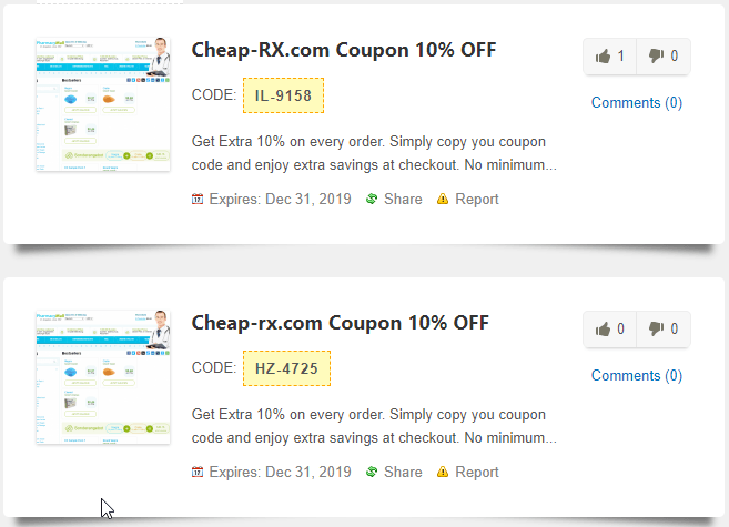 Cheap Pills Coupons